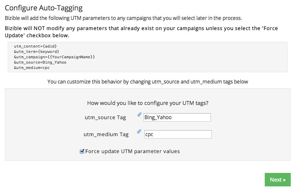 Bing Ads Auto Tagger