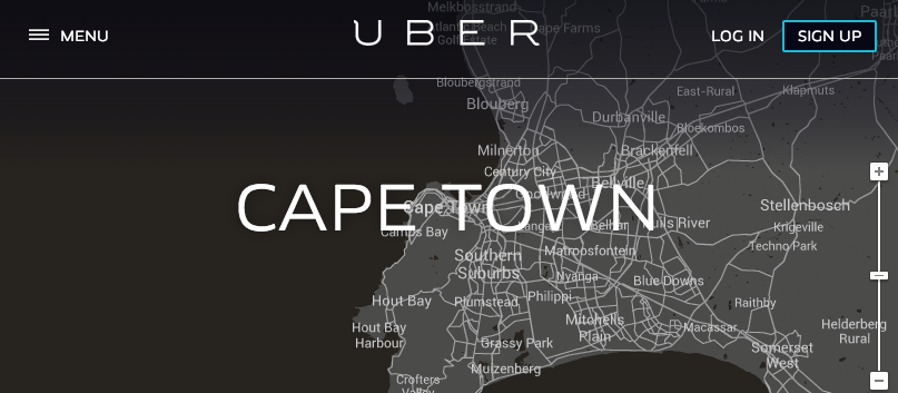 Uber Cape Town